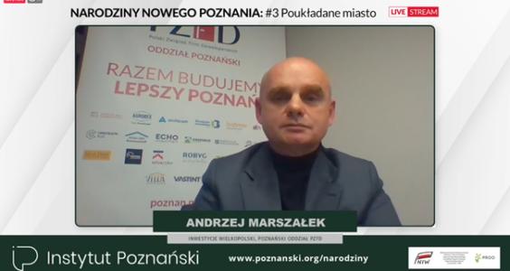 """""""Poukładane miasto, czyli narodziny nowego Poznania"""" – debata, 14.12.2020"""